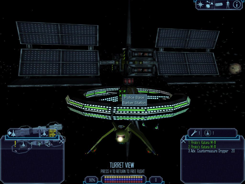 free 3ds mode space station