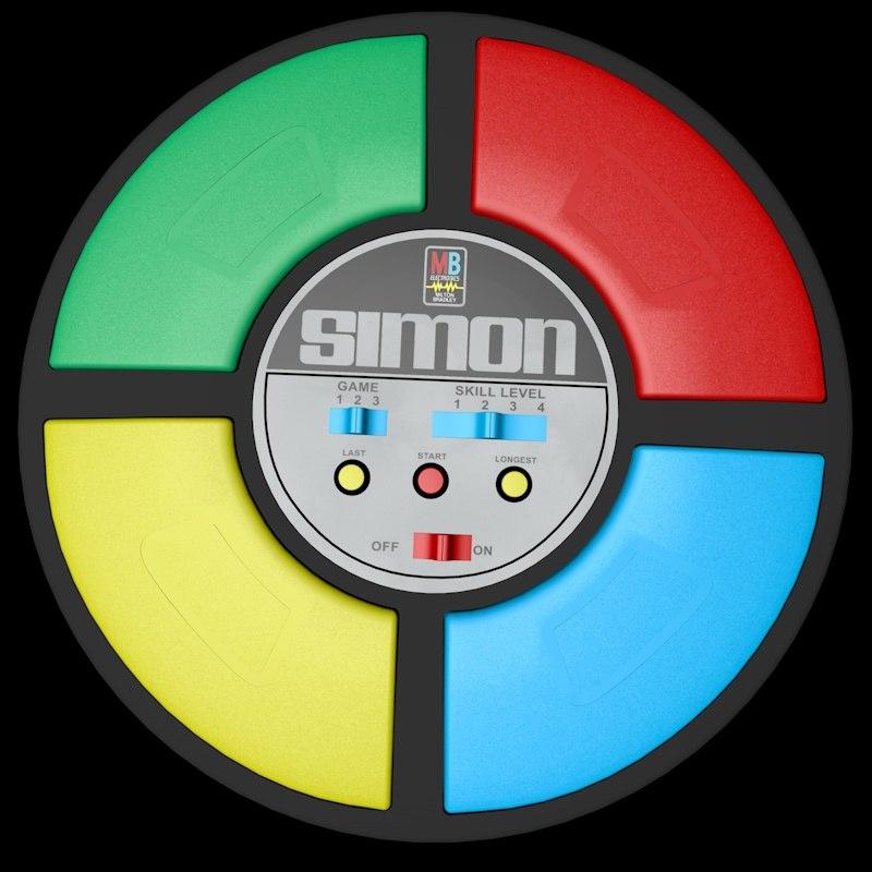 3d model simon electronic