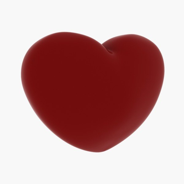 free max model heart