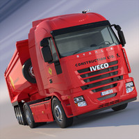 iveco stralis 3d 3ds