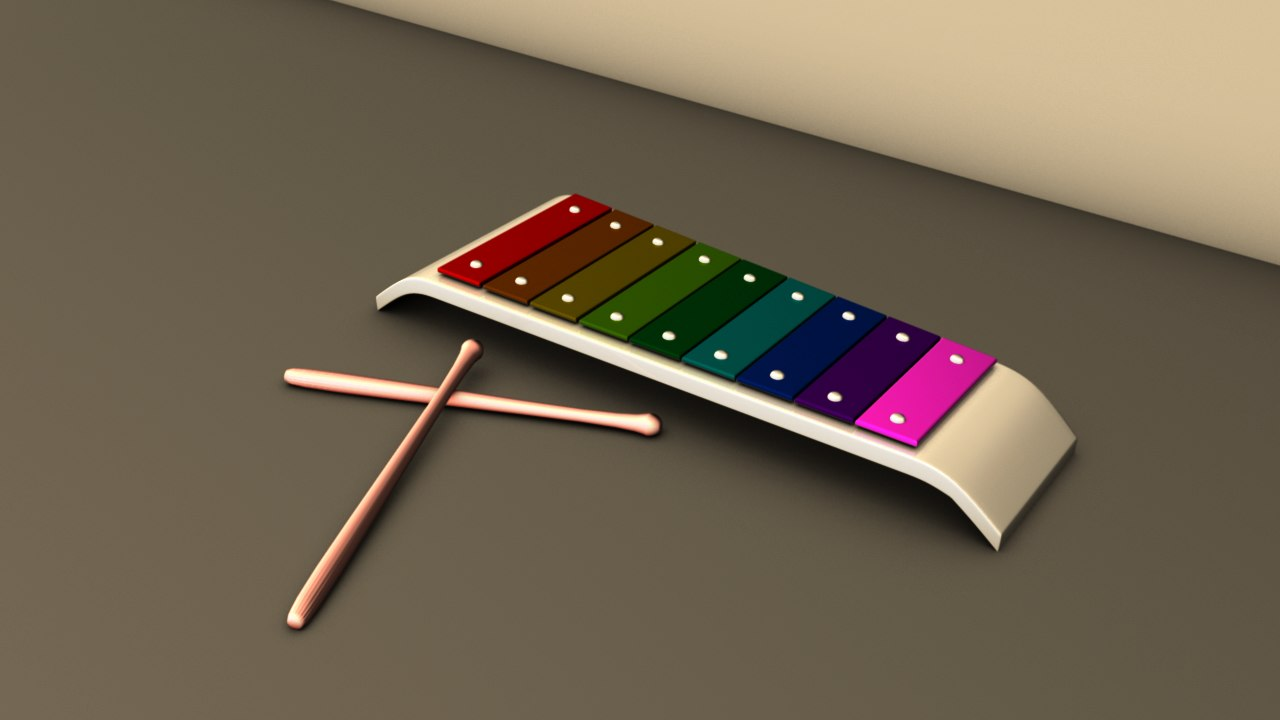 xylophone ambient occlusion ma