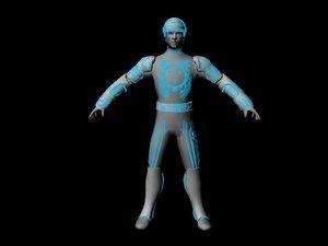 maya tron character original