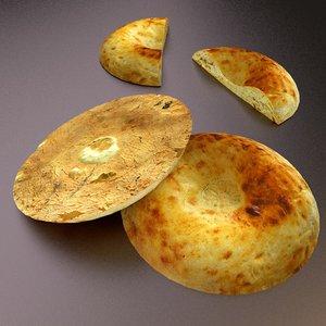 uzbek bread obj