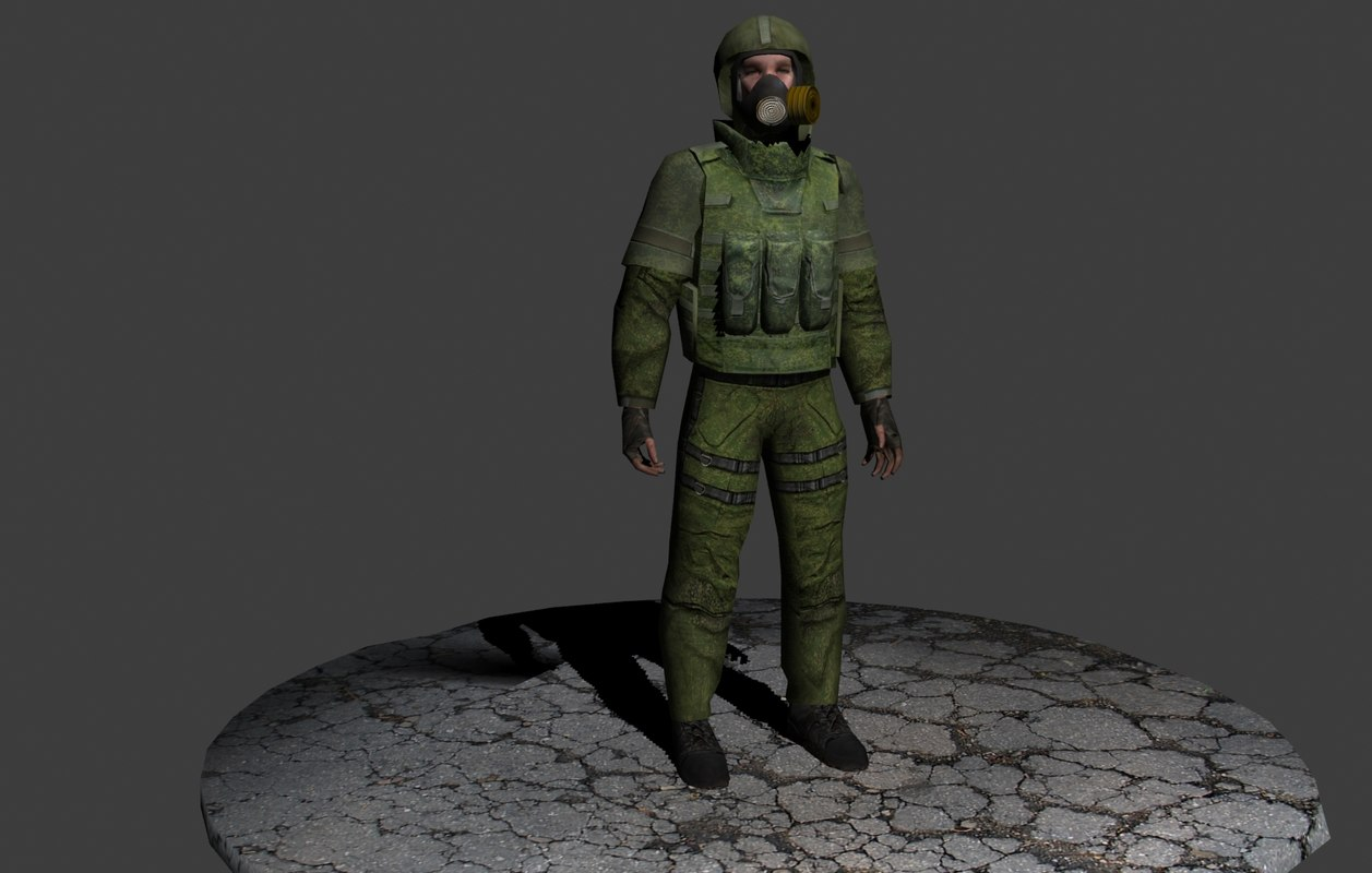 3d model russian