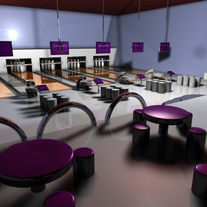 bowling alley centre 3ds
