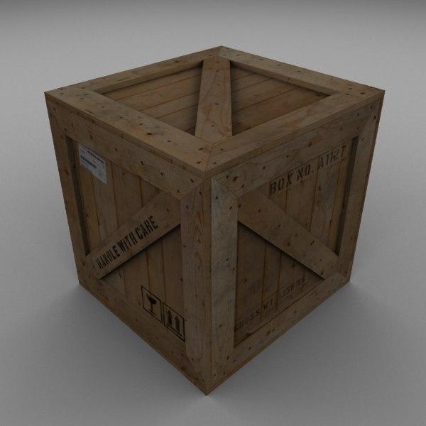 max wood carton