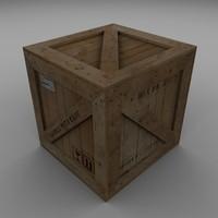 Wood Carton 001