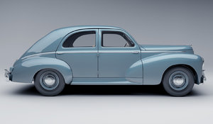 3ds max old peugeot 203