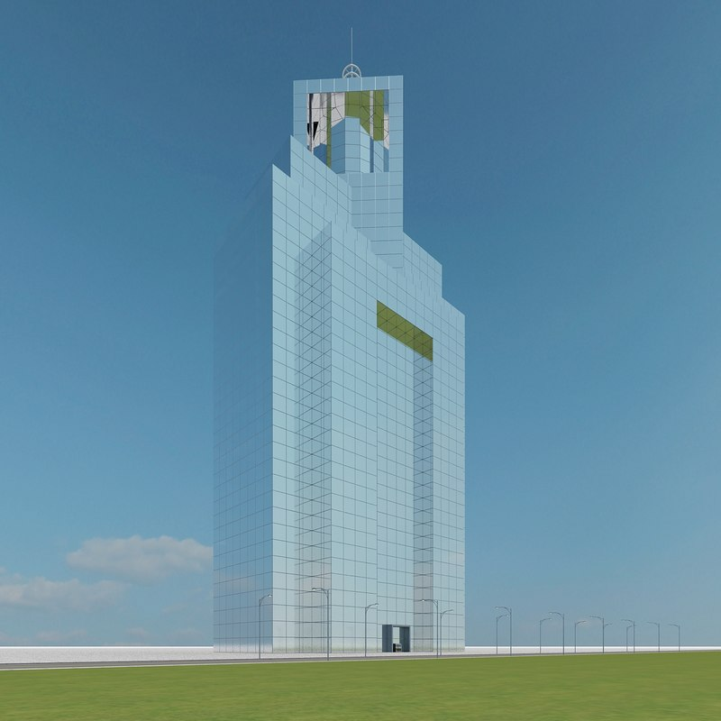 3d model new skyscraper 87