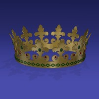 3d crown