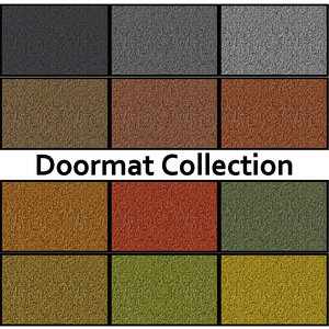 3d model clean doormats