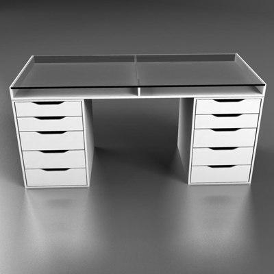 3d desktop desk