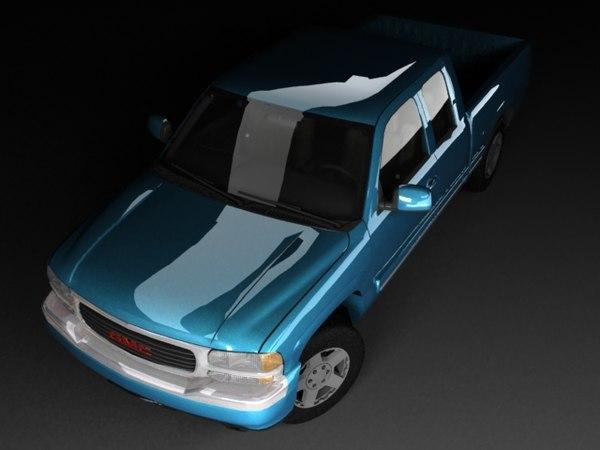 3d gmc mk1 cab model