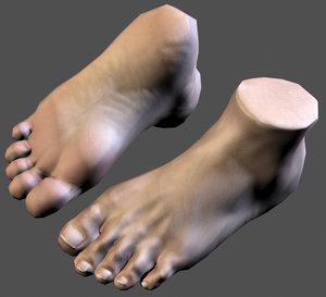 realistic foot max