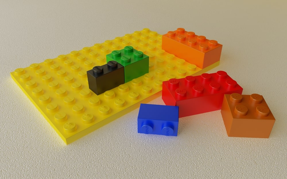 3d model lego modeled