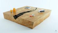 Bark table