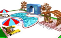 3ds max pool elements
