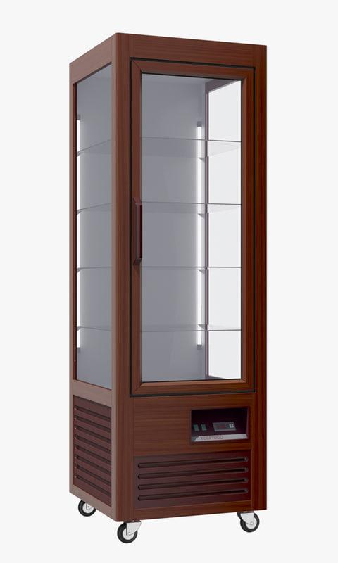 3d model refrigerator saloon 350
