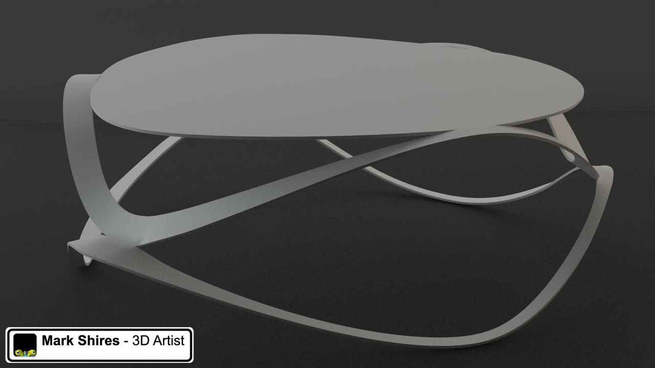 3dsmax small table