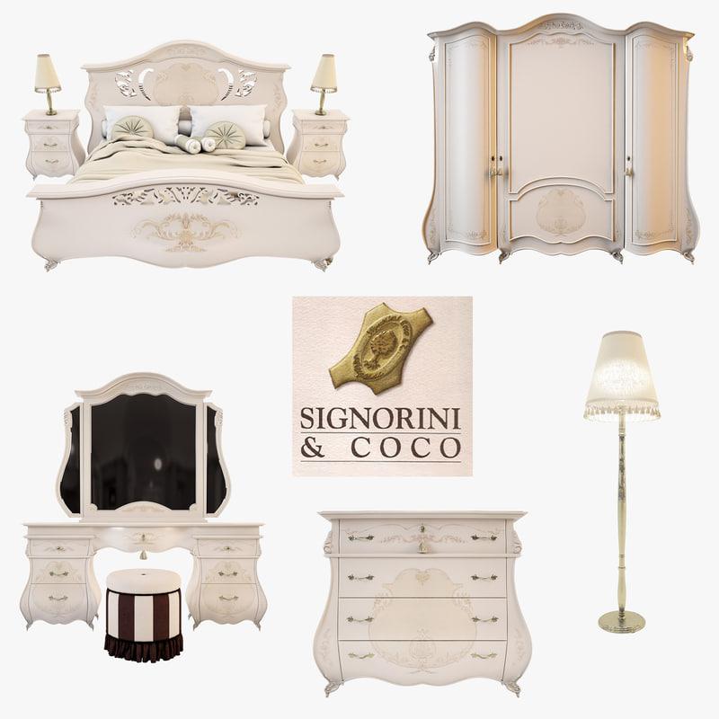 signorini coco monreale white 3d model