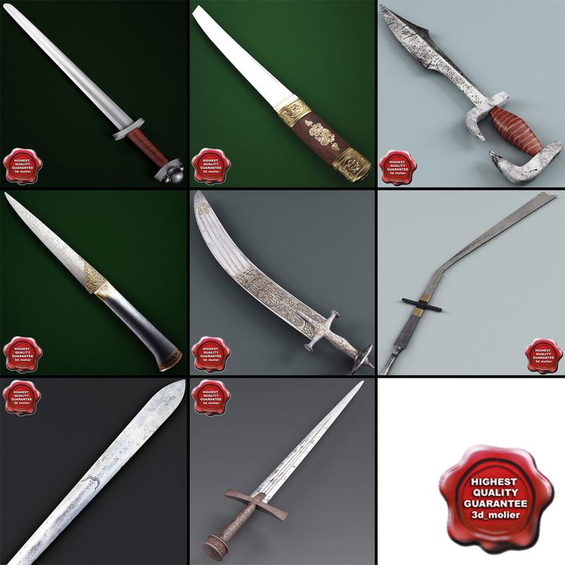 swords v4 3d model