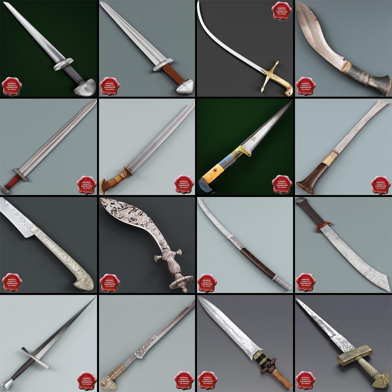 3d swords v5