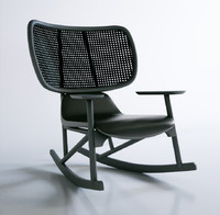 Moroso Klara rocking chair
