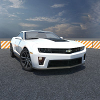 chevy camaro car 3d model
