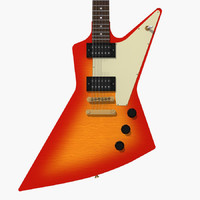 Guitar: Gibson Explorer: Sunburst Finish
