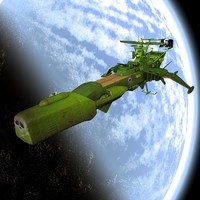 3dsmax arcadia spaceship space