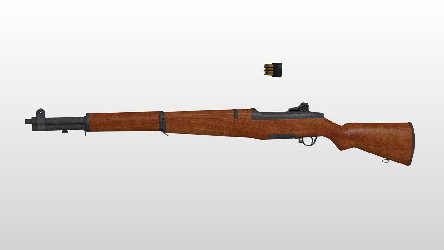 m1 garand rifle 3ds