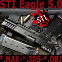 3d sti eagle 5 0