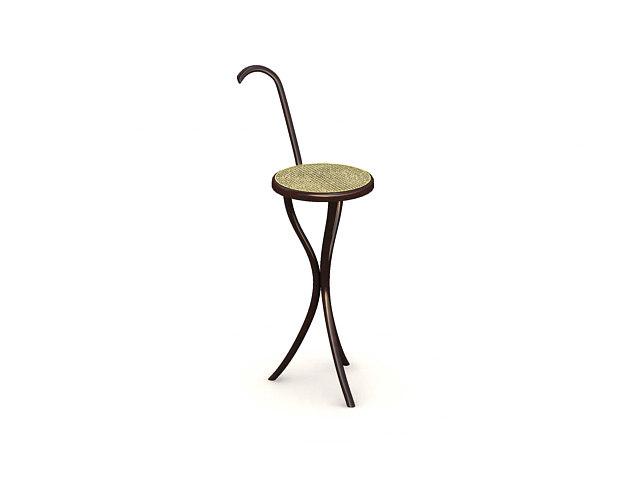 3d art chair model