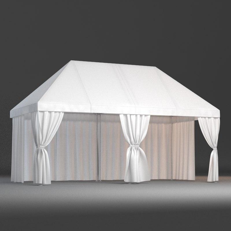 3d partytent tent