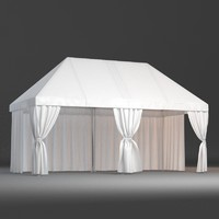 Party Tent 3D Models for Download | TurboSquid