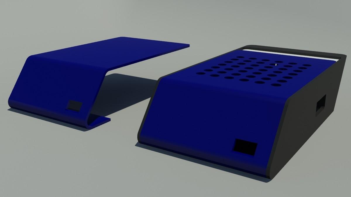 3d raspberry pi case printable
