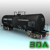 max t104 tank car rail