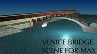 3dsmax italian venice scene
