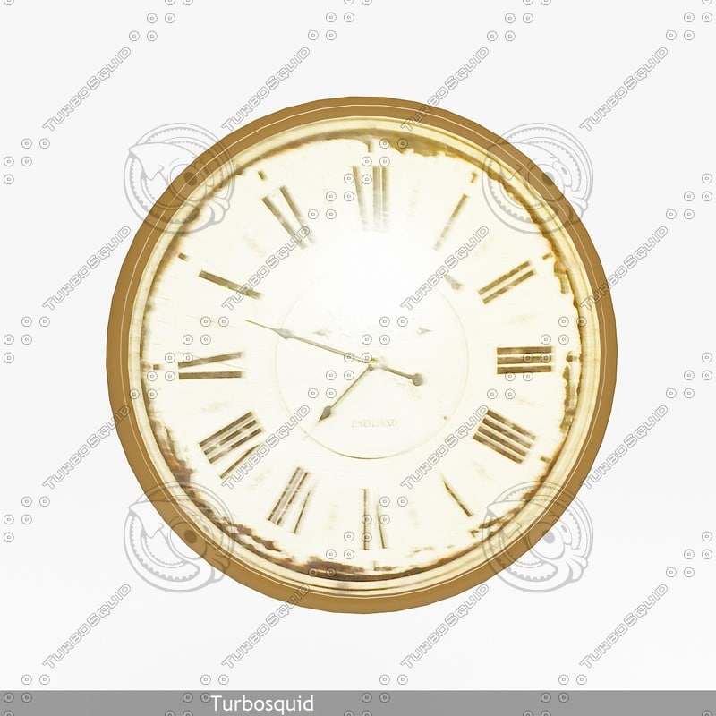 clock 02 3d model