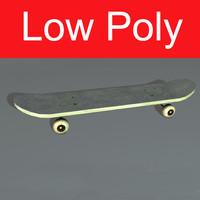 skateboard resolution real 3d max