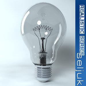 bulb creativity idea 3d 3ds
