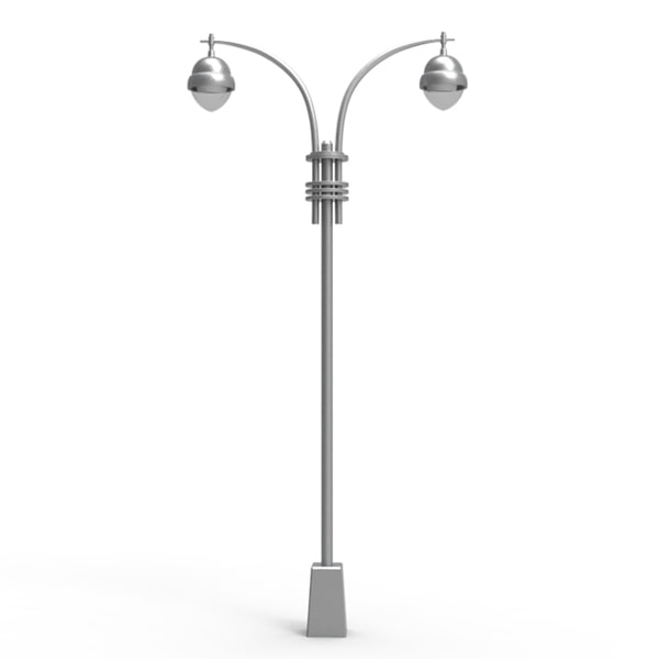 3d streetlight light street