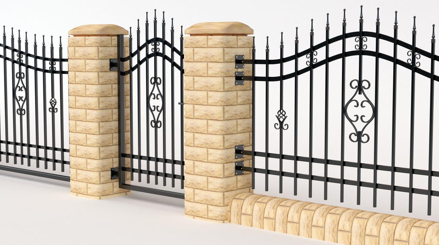 metal fence max