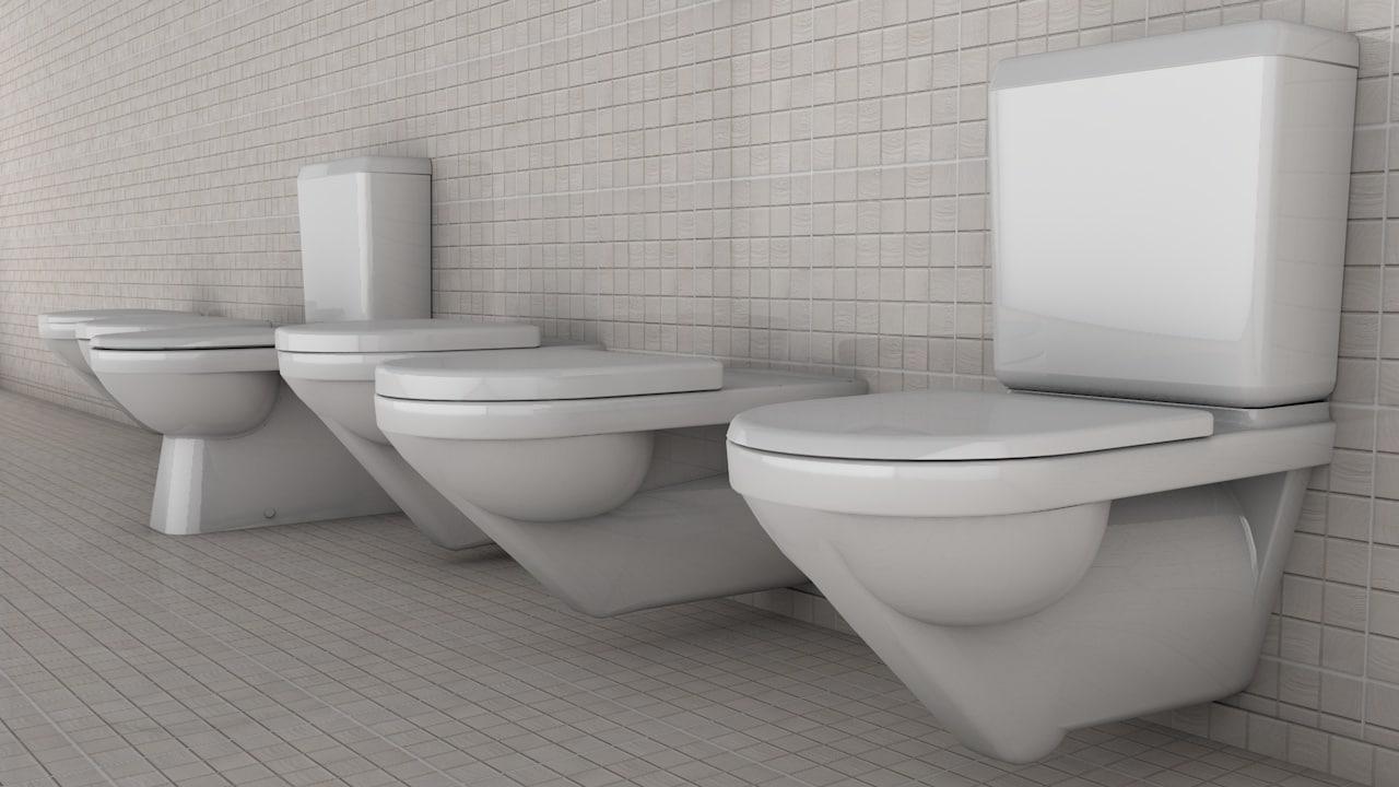 3ds max toilet bathroom lavatory