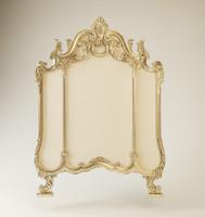 classic wall mirror 3d max