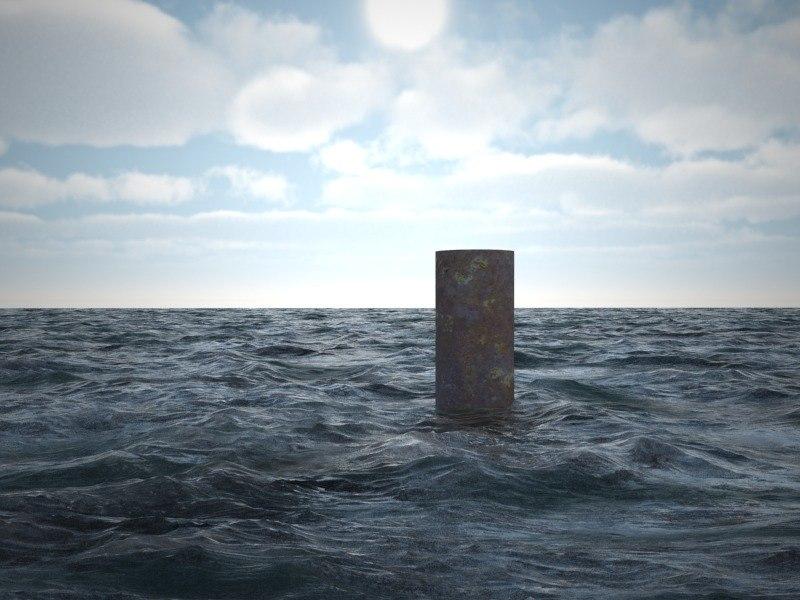 sea ocean 3d model