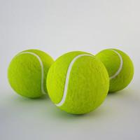 3d model tennis ball