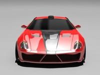 3ds max car prototype