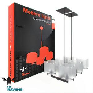 lamp light chandelier 3d max