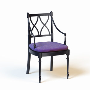 chair galimberti nino 3d model